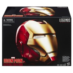 Casco Completo Iron Man Con Luces y Sonido Marvel Legends Deluxe