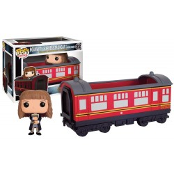 Figura Hermione Con Tren Hogwarts Express Harry Potter Cabezon Pop Funko