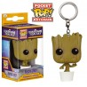 Llavero Baby Groot Dancing Guardianes de La Galaxia Funko Pop Pocket