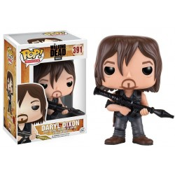 Figura Daryl Dixon Launcher de The Walking Dead Pop Funko 10 cm