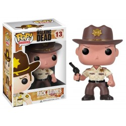 Figura Rick Grimes de The Walking Dead Pop Funko 10 cm