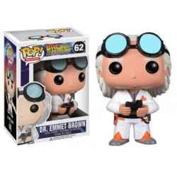 Figura Doc Brown Regreso al Futuro Pop Funko