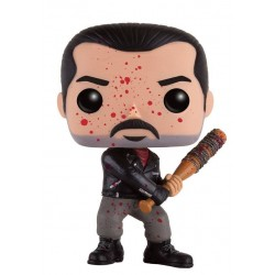 Figura Negan Bloody Version Sangriento de The Walking Dead Pop Funko 10 cm