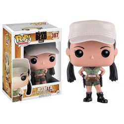 Figura Rosita de The Walking Dead Pop Funko 10 cm