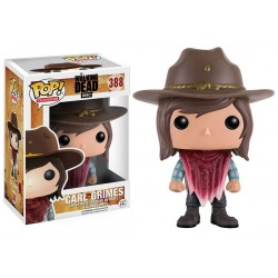 Figura Carl Grimes de The Walking Dead Pop Funko 10 cm