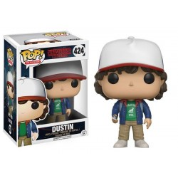 Figura Dustin de Stranger Things Pop Funko 10 cm