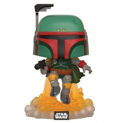 Figura Boba Fett Jet Pack de Star Wars Cabezon Pop Funko 10 cm