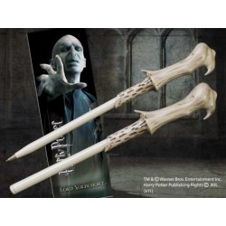 Set Lord Voldemort Boligrafo Varita mas Marcapaginas - Harry Potter Noble Collection