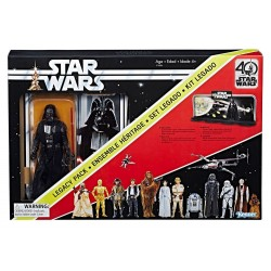 Pack Darth Vader Black Series 40th Aniversario Legacy Pack 15 cm