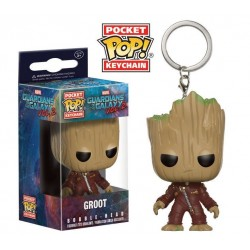 Llavero Joven Groot Guardianes de La Galaxia Vol. 2 Funko Pop Pocket