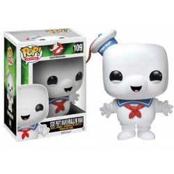 Figura Stay Puft Marshmallow Ghostbusters Super Sized Cabezon Pop Funko 15 cm