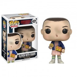 Figura Eleven with Eggos de Stranger Things Pop Funko 10 cm