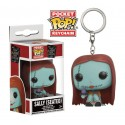 Llavero Sally Sentada Seated Pesadilla Antes de Navidad Funko Pop Pocket