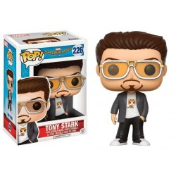 Figura Tony Stark de Spiderman Homecoming Cabezon Pop Funko 10 cm