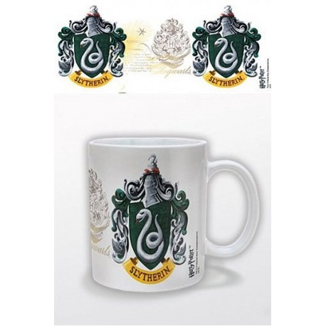 Taza Harry Potter Escudo Slytherin Crest