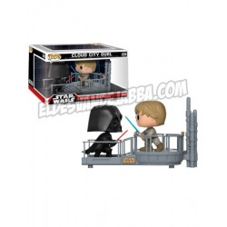 Pack Figuras Darth Vader y Luke Skywalker Cloud City Duel Movie Moments Funko Pop