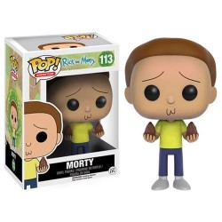 Figura Morty de Rick and Morty Cabezon Pop Funko 10 cm
