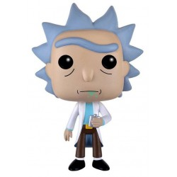 Figura Rick de Rick and Morty Cabezon Pop Funko 10 cm