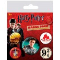 Pack 5 Chapas Gryffindor de Harry Potter