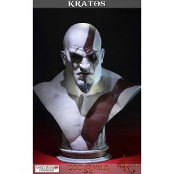 Busto Kratos God of War Ascension 71 cm Escala 1/1 Tamaño Real Gaming Heads