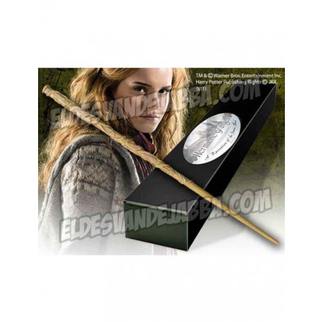 Varita Magica Hermione Granger Edicion Caracter - Harry Potter NOBLE COLLECTION