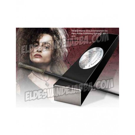 Varita Magica Bellatrix Lestrange Edicion Caracter - Harry Potter NOBLE COLLECTION