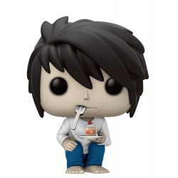 Figura L With Cake de Death Note Pop Funko 10 cm