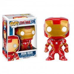 Figura Iron Man Civil War Pop Funko 10 cm