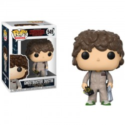 Figura Dustin Ghostbuster de Stranger Things Pop Funko 10 cm