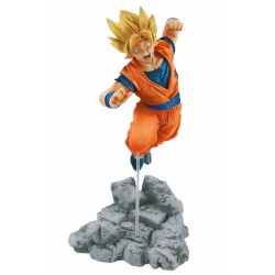 Estatua Goku Super Saiyan Soul X Soul Dragon Ball Banpresto