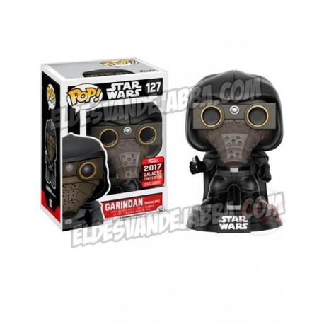 Figura Garindan Espia Imperial Edicion Limitada Galactic Convention 2017 Exclusive de Star Wars Cabezon Pop Funko 10 cm