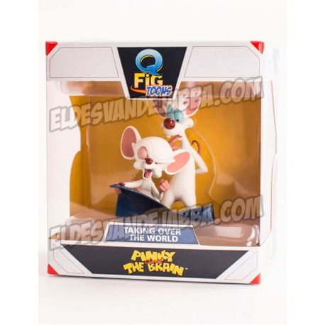 Figura Pinky y Cerebro First Spell 9 cm Q-Fig