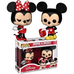 Pack 2 Figuras Minnie y Mickey Enamorados Funko Pop