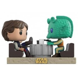 Pack Figuras Han Solo y Greedo Cantina FaceOff Duel Movie Moments Funko Pop