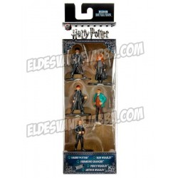 Set Minifiguras Harry Potter Metalicas Pack 2