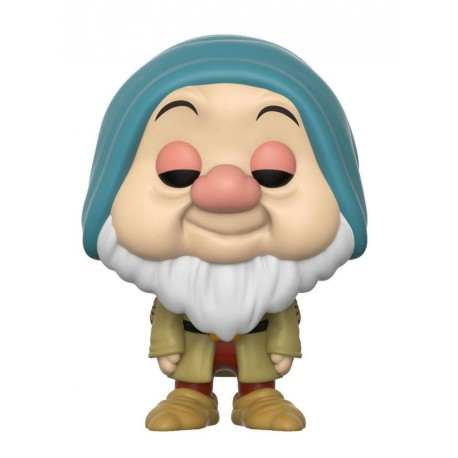 Figura Enanito Dormilon Sleepy de Blancanieves Cabezon Pop Funko 10 cm