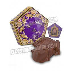 Rana de Chocolate Orginal con Cromo de Mago de Harry Potter Warner Bros