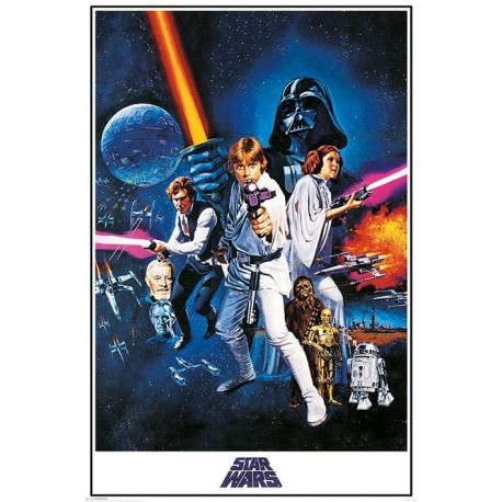Poster A New Hope Star Wars 61 x 91 cm