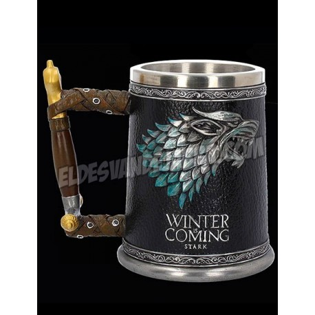 Jarra Premium Juego de Tronos Stark Winter Is Coming