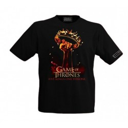 Camiseta Juego de Tronos Games Of Thrones Five Kings One Throne