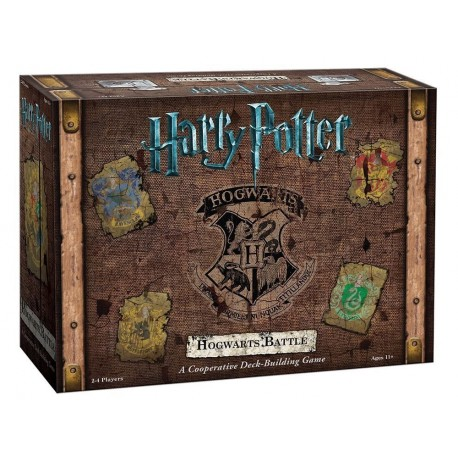 Juego de Mesa Hogwarts Battle de Harry Potter (Ingles)
