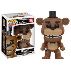 Figura Freddy de Five Nights at Freddy's Pop Funko 10 cm