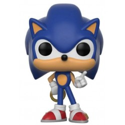Figura Sonic The Hedgehog with Ring de Sonic Pop Funko 10 cm