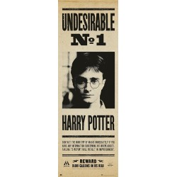 Poster Puerta Harry Potter Undesirable 158 x 53 cm Harry Potter