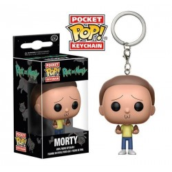 Llavero Morty de Rick and Morty Pop Funko Pocket