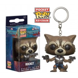 Llavero Rocket de Guardianes de La Galaxia Vol 2 Pop Funko Pocket