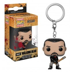Llavero Negan de The Walking Dead Pop Funko Pocket