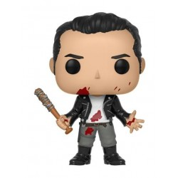 Figura Negan Clean Shaven de The Walking Dead Pop Funko 10 cm