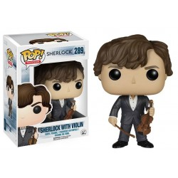 Figura Sherlock With Violin Funko Pop