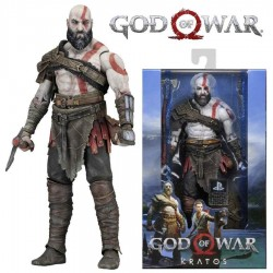 Figura Kratos de God Of War Version 2018 Neca